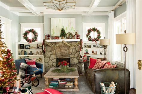classic christmas house lights 14 easy traditional decorating ideas hgtv