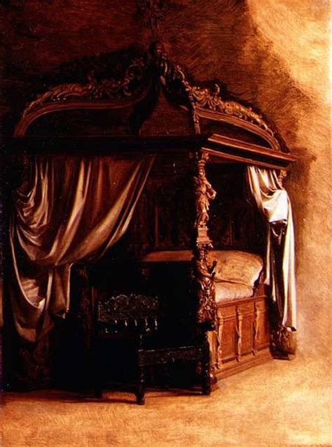 christen the bed the royal bed of king christian iv of de carl bloch