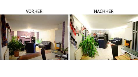 Wohnzimmer Beleuchtung Indirekt by Indirekte Beleuchtung Mit Led Vorher Gt Nachher