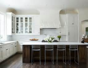 why white kitchen cabinets are the right choice the white kitchen with blue island transitional kitchen