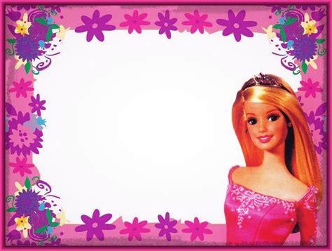 imagenes originales gratis marcos para fotos de barbie invitaciones imagenes de barbie
