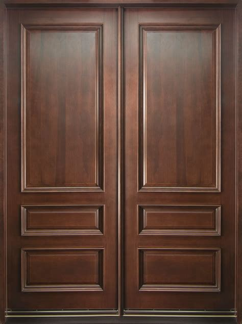 Solid Wooden Front Doors Front Door Custom Solid Wood With Mahogany Finish Classic Model Db 611 Dd Cst
