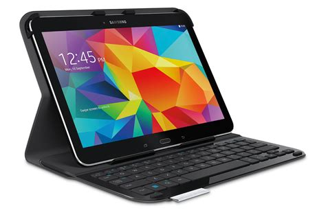 Keyboard Samsung Tab 4 logitech announces new keyboard for the samsung galaxy tab 4 10 1 prodblog prod