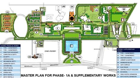 layout plan of engineering college about new cus permanent cus