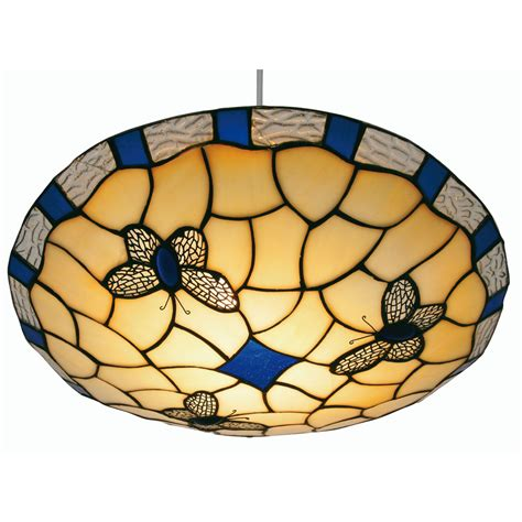 butterfly tiffany l shade butterfly non electric tiffany glass ceiling shade fitting