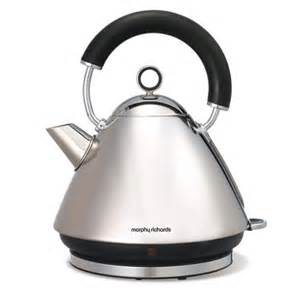 Morphy Richards Accents Toaster Red Morphy Richards 43825 Silver Accents Pyramid Kettle Review