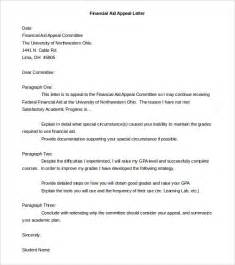 Financial Letter Of Appeal Appeal Letter Templates 11 Free Word Pdf Documents Free Premium Templates