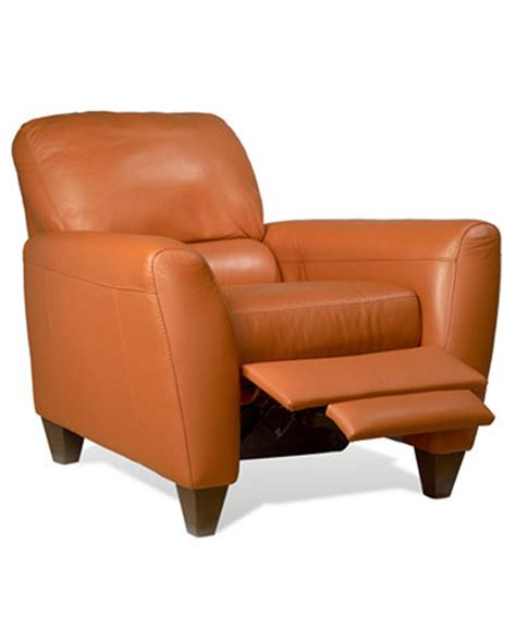 Macy S Recliner Chairs by Almafi Leather Recliner Furniture Macy S