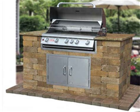 Backyard Grill Kits Outdoor Living Conklin Limestone