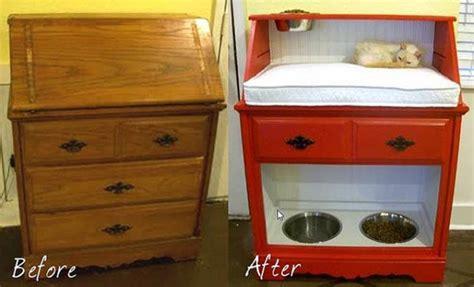 Desk Ideas Diy creative ideas diy repurpose an old desk into a pet station