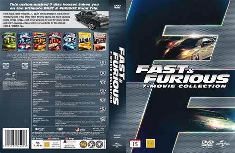 Fast Furious Collection covers box sk fast furious 7 collection