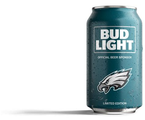 bud light superbowl cans eagles fans bud light has created a can just for you