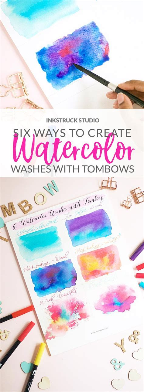 watercolour quotes tutorial 1000 images about tombow art on pinterest watercolor