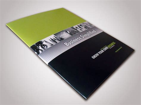 company brochure design and corporate marketing material