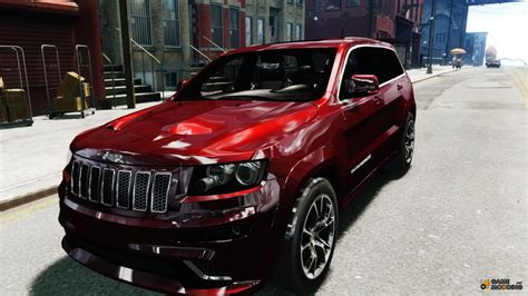 jeep grand cherokee srt modified jeep grand cherokee srt8 for gta 4