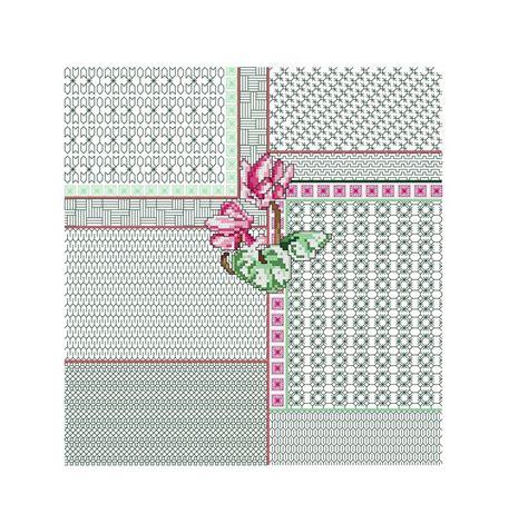 cuscino punto croce schemi punto croce cuscino fiore acquatico libri