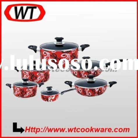 Teflon Tivoli enamel cookware sets
