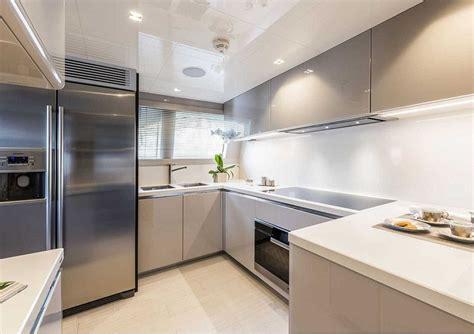 yacht kitchen price on application inside the multi million pound