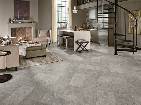 armstrong luxury vinyl tile flooring lvt gray 12x24 patterned tile herringbone