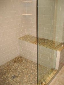 shower bench tile images two person shower with seat