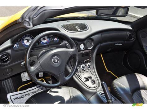 maserati spyder interior 2005 maserati spyder cambiocorsa interior photo 50106957