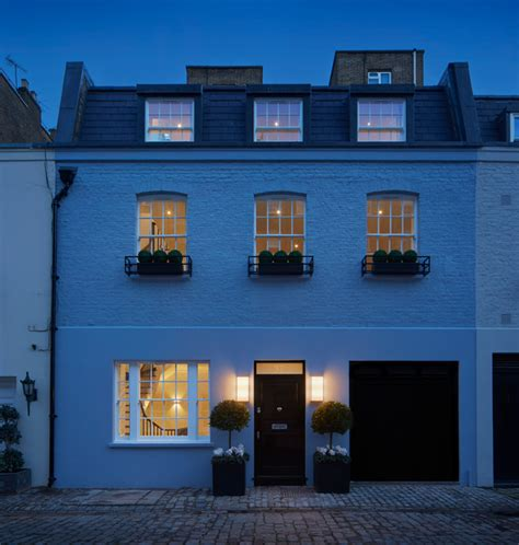 house design awards uk mews house in belgravia transitional exterior london