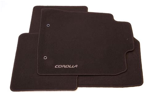 genuine toyota corolla textile floor mats anthracite set