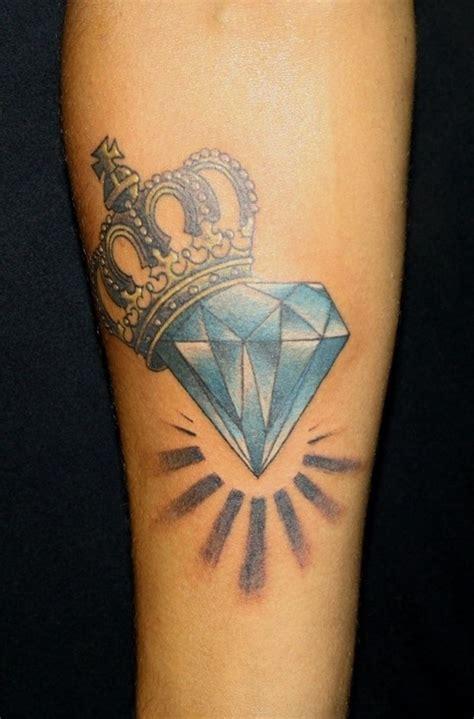 diamond tattoo with initials 30 unique diamond tattoo design