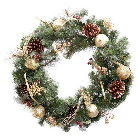 Delightful Unlit Christmas Garland #4: Martha-stewart-living-christmas-wreaths-2173550hd-64_1000.jpg