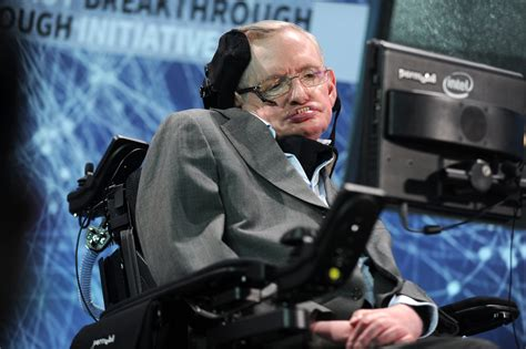 Intelligence Stephen Hawking stephen hawking warned about the perils of artificial