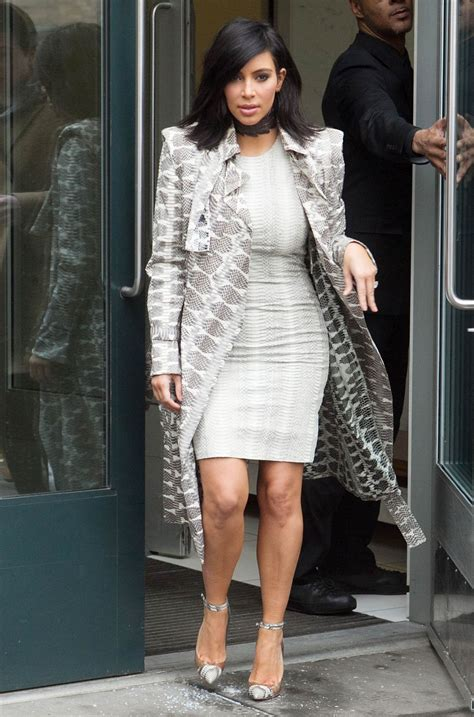 kim kardashians new hairstyle 2015 kim kardashian style out in new york city february 2015