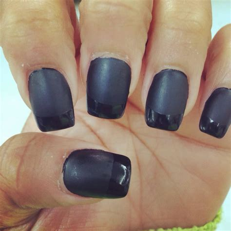 matte pointed nails a from my pointed nails square black matte