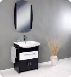 Bathroom Towels Design Ideas fresca distinto modern bathroom vanity with dark wood