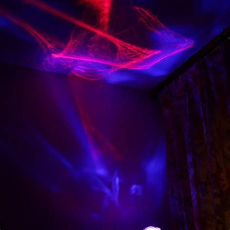 night light projector l aurora borealis night light with speaker color changing