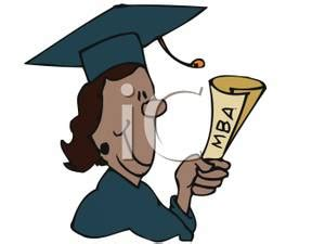 Black And Getting Mba mba students clipart collection