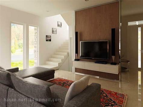 design interior ruang tv interior cluster maple summarecon bekasi swan fox