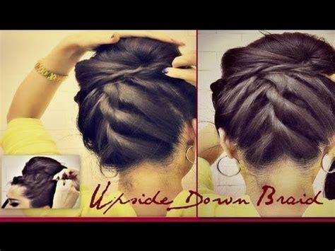tutorial upside hairbun newbie 53 best bridal braids images on pinterest bridal