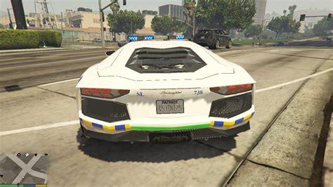 police lamborghini aventador malaysia police pdrm lamborghini aventador gta5 mods com