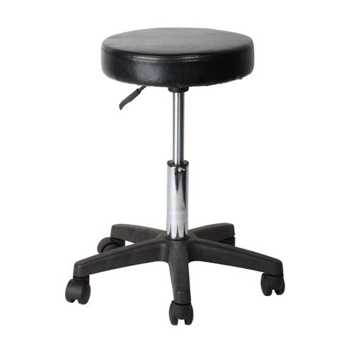 Stool Chair - pneumatic rolling adjustable swivel stool work spa chair