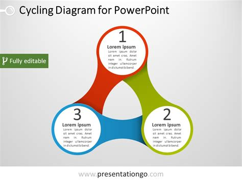 Infinity Symbols The Free Powerpoint Template Library Powerpoint Diagram Templates