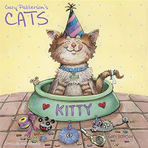 wall calendar 2018 cats of greece books 2018 gary patterson s cats wall calendar mead wantitall