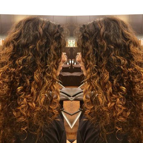 Curly Haircuts Chicago | curly hair balayage hair by me lindseymarino at