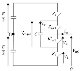 flying capacitor inverter one leg of three level flying capacitor inverter figure 1 of 10