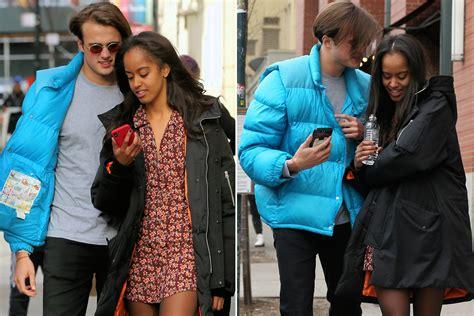 sasha obama boyfriend malia obama and boyfriend get flirty in nyc page six