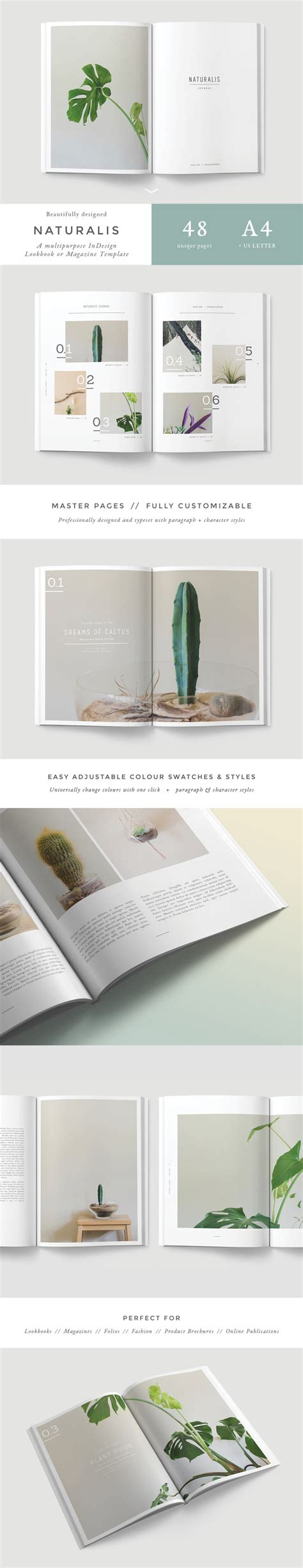 adobe indesign magazine template free adobe indesign template for lookbooks and magazines