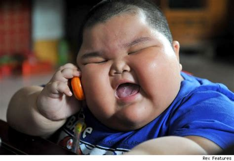 Meme Fat Chinese Kid - three year old boy weighs almost ten stone the