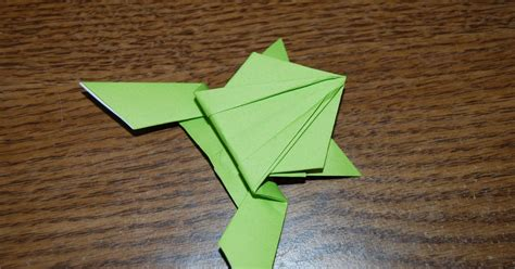 Hopping Frog Origami - epic origami the hopping frog