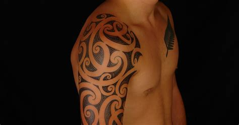 shane tattoos maori half sleeve tattoo on rhys