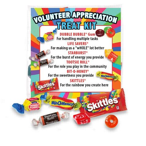 Volunteer Appreciation Treat Pack
