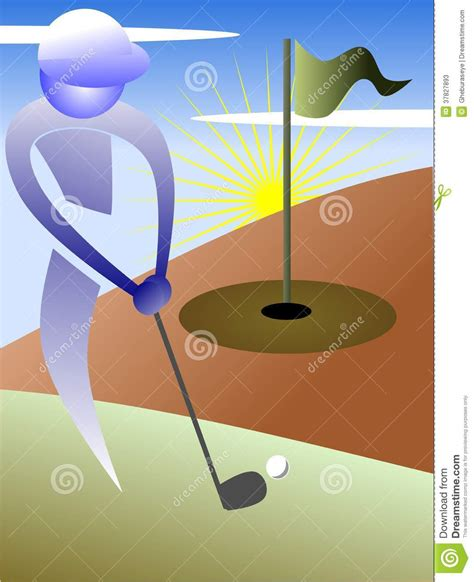 colorful golf colorful golf background stock photos image 37827893